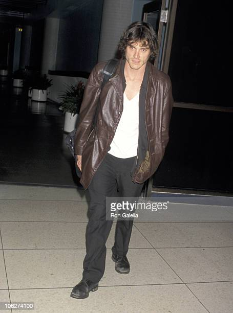 Billy Crudup during Billy Crudup Sighting at the Los Angeles International Airport - March 15, 1999 at Los Angeles International Airport in Los...