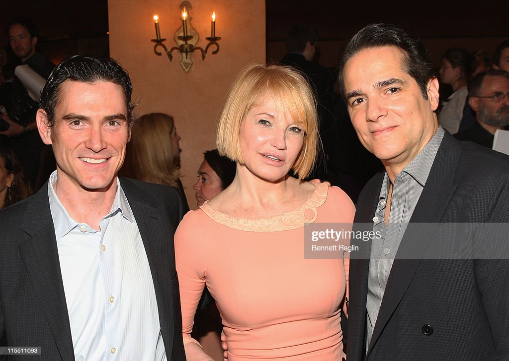 Billy Crudup, Ellen Barkin, and Yul Vazquez attends the 67th annual Theatre World Awards Ceremony at the August Wilson Theatre on June 7, 2011 in New York City.