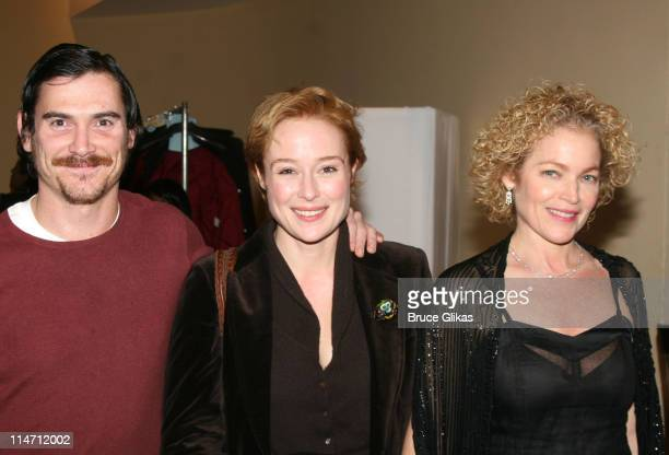 Billy Crudup Jennifer Ehle and Amy Irving during 'Shipwreck The Coast of Utopia Part 2' Opening Night Party at Avery Fisher Hall in New York City New...