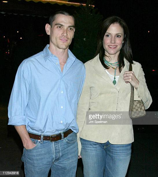 Billy Crudup MaryLouise Parker during World Traveler Premiere Party at Serena in New York City New York United States