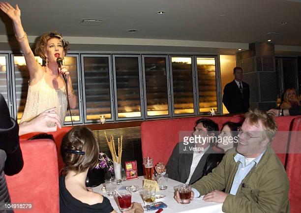 Billy Crudup MaryLouise Parker Philip Seymour Hoffman watch Kiki perform