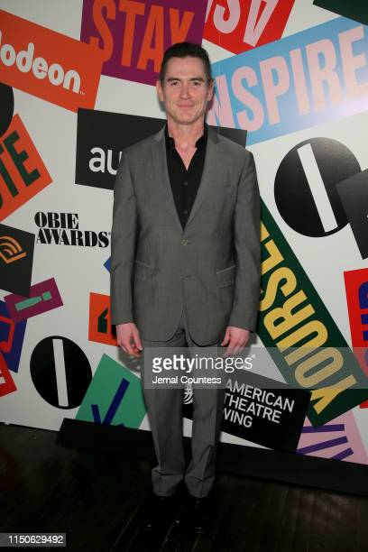Billy Crudup poses backstage during the 64th Annual Obie Awards on May 20, 2019 in New York City.