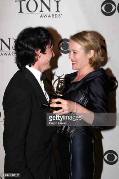 """Billy Crudup, winner Featured Actor for """"The Coast of Utopia"""" and Jennifer Ehle, winner Featured Actress"""