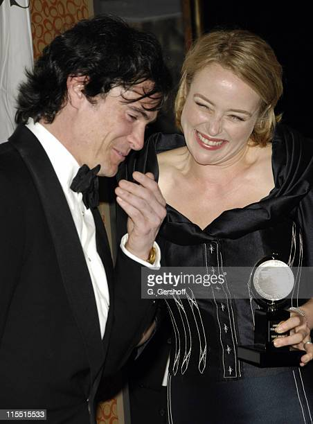 """Billy Crudup, winner Featured Actor for """"The Coast of Utopia,"""" and Jennifer Ehle, winner Featured Actress for """"The Coast of Utopia"""""""