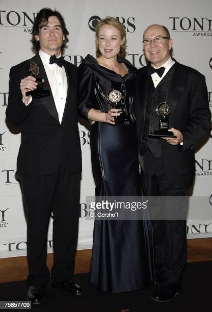 Billy Crudup winner Featured Actor for The Coast of Utopia Jennifer Ehle winner Featured Actress for The Coast of Utopia and Jack O'Brien winner Best...