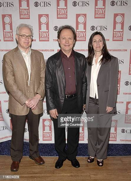 Billy Crystal and Janice Crystal and Michael Clark Production Designer