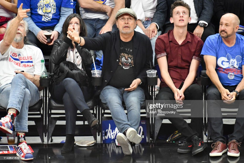 CA: Celebrities At The Golden State Warriors v Los Angeles Clippers - Game Three