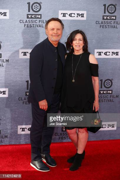 """Billy Crystal and Janice Crystal attend at the 2019 TCM Classic Film Festival Opening Night Gala And 30th Anniversary Screening Of """"When Harry Met..."""