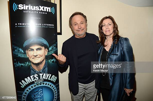 Billy Crystal and Janice Crystal attend SiriusXM Presents James Taylor Live at The Apollo Theater on June 16, 2015 in New York City.