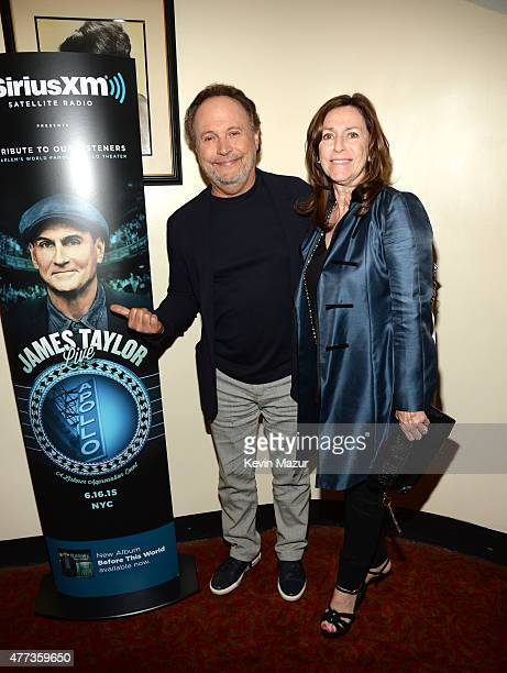 Billy Crystal and Janice Crystal attend SiriusXM Presents James Taylor Live at The Apollo Theater on June 16 2015 in New York City