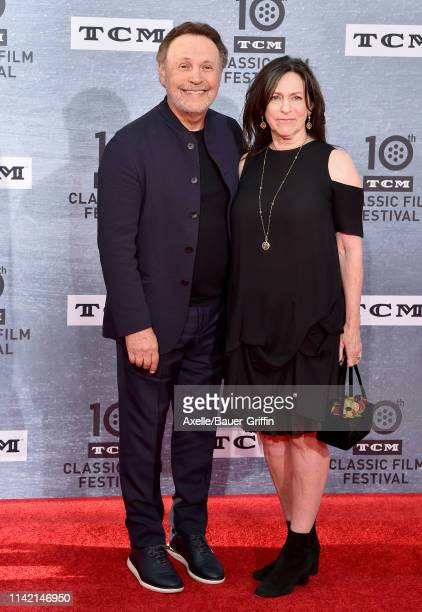 Billy Crystal and Janice Crystal attend the 2019 TCM Classic Film Festival Opening Night Gala and 30th Anniversary Screening of 'When Harry Met...