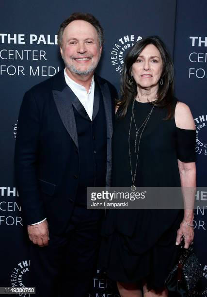 Billy Crystal and Janice Crystal attend The Paley Honors: A Gala Tribute To LGBTQ at The Ziegfeld Ballroom on May 15, 2019 in New York City.