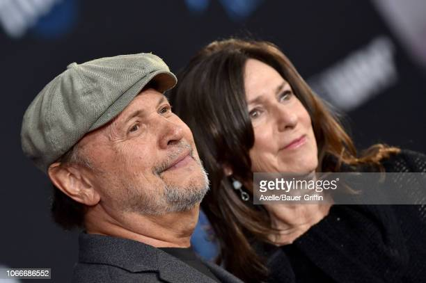 Billy Crystal and Janice Crystal attend the premiere of Disney's 'Mary Poppins Returns' at El Capitan Theatre on November 29 2018 in Los Angeles...