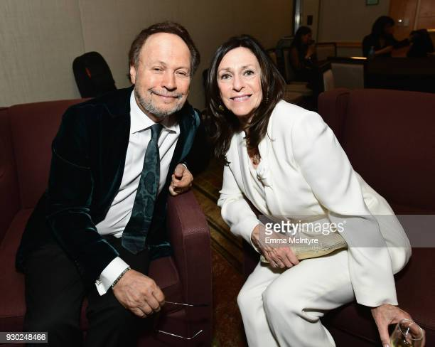 Billy Crystal and Janice Crystal attends Celebrity Fight Night XXIV on March 10 2018 in Phoenix Arizona