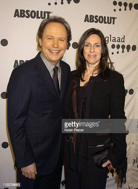 Billy Crystal and Janice Crystal during 16th Annual GLAAD Media Awards at Marriott Marquis Hotel in New York City New York United States