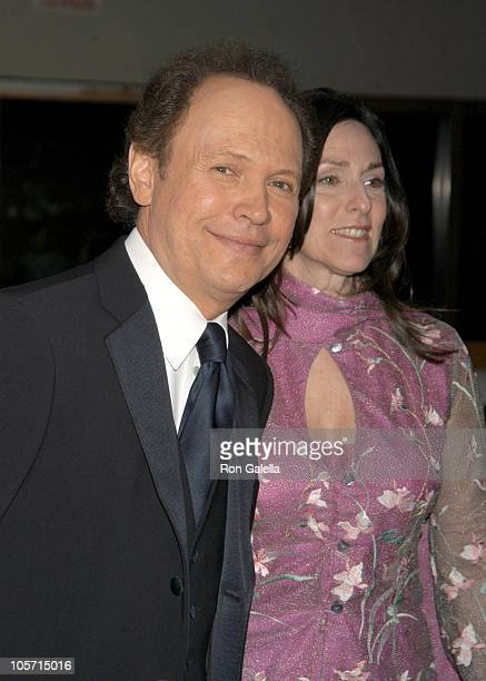 Billy Crystal and Janice Crystal during 50th Annual Drama Desk Awards Nominations - Arrivals at Fiorello H. LaGuardia High School in New York City,...