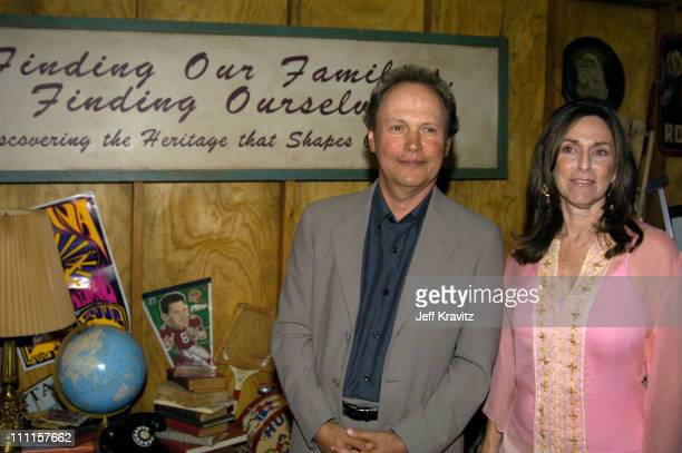 """Billy Crystal and Janice Crystal during HBO's Documentary """"My Uncle Berns"""" - Los Angeles Premiere at Museum of Tolerance in Los Angeles, California,..."""