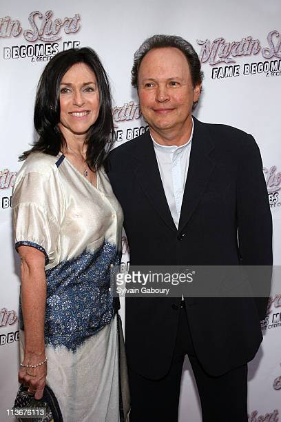 """Billy Crystal and Janice Crystal during """"Martin Short: Fame Becomes Me"""" Broadway Opening Night - Arrivals at Bernard B. Jacobs Theater in New York..."""