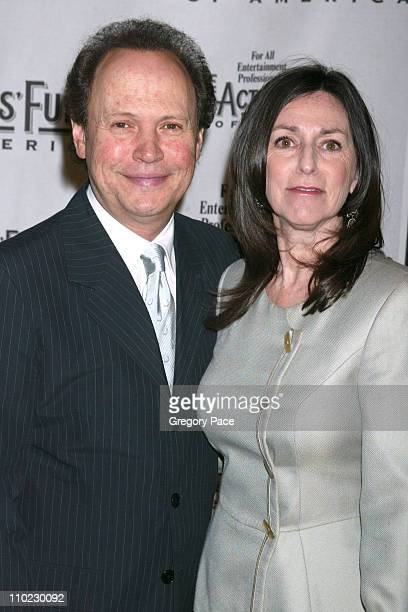 Billy Crystal and Janice Crystal during The Actors Fund There's No Business Like Show Business Gala at Cipriani 42nd Street in New York City New York...