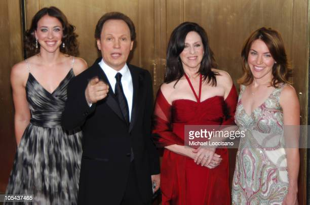 Billy Crystal and Janice Crystal nominees Best Special Theatrical Event for 700 Sundays with guests