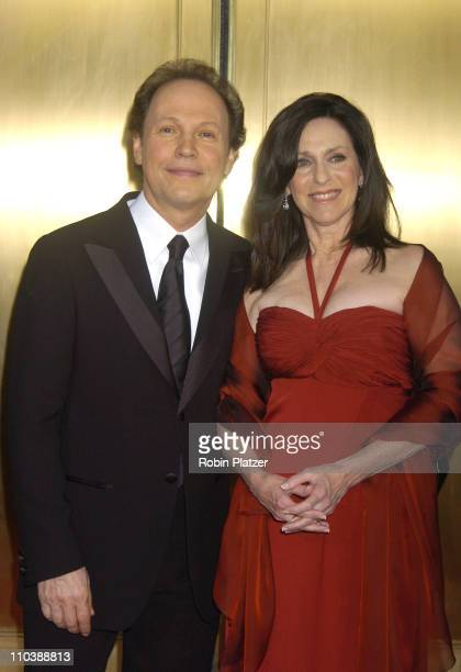 """Billy Crystal and Janice Crystal, nominees Best Special Theatrical Event for """"700 Sundays"""""""