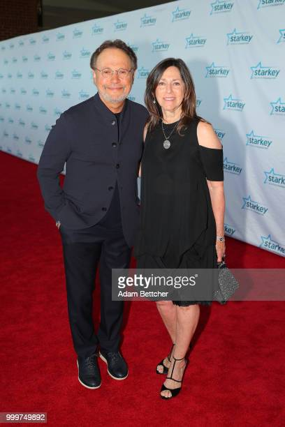 Billy Crystal and Janice Crystal walk the red carpet at the 2018 So the World May Hear Awards Gala benefitting Starkey Hearing Foundation at the...