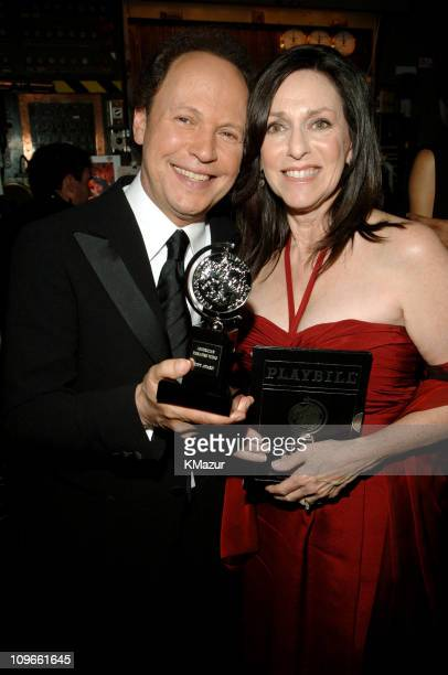 """Billy Crystal and Janice Crystal, winners of Best Special Theatrical Event for """"700 Sundays"""""""
