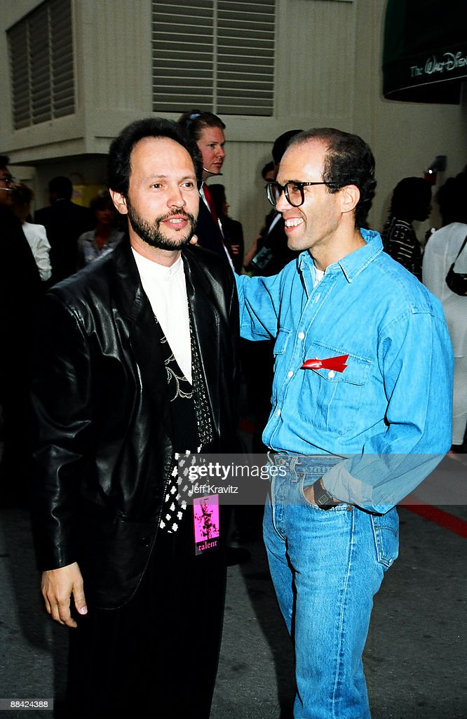 Billy Crystal and Jeffrey Katzenberg