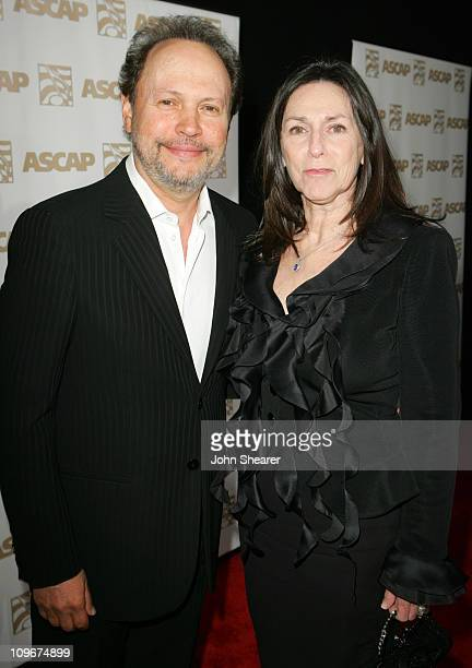 Billy Crystal and wife Janice Crystal during 2007 ASCAP Film Television Music Awards at Kodak Theater in Los Angeles California United States