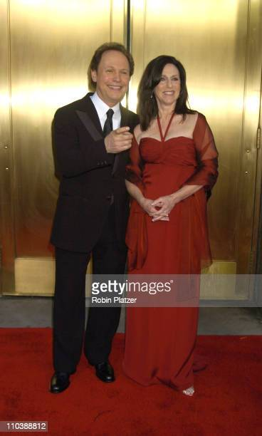 """Billy Crystal and wife Janice Crystal, nominees Best Special Theatrical Event for """"700 Sundays"""""""