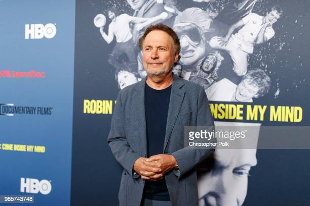 """Billy Crystal arrives to the Premiere Of HBO's """"Robin Williams: Come Inside My Mind"""" at TCL Chinese 6 Theatres on June 27, 2018 in Hollywood,..."""