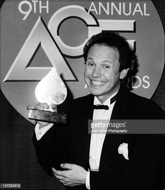 Billy Crystal at the 9th Annual ACE Awards on January 24 1988 at the Wiltern Theatre in Los Angeles California