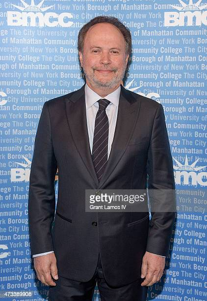 Billy Crystal attends the 2015 Borough Of Manhattan Community College Invest In A Future Scholarship Gala at Cipriani Wall Street on May 14 2015 in...