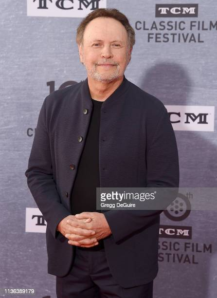 """Billy Crystal attends the 2019 TCM Classic Film Festival Opening Night Gala And 30th Anniversary Screening Of """"When Harry Met Sally"""" at TCL Chinese..."""