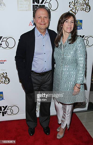 """Billy Crystal attends the 25th Anniversary Screening & Cast Reunion Of """"The Princess Bride"""" During The 50th New York Film Festival at Alice Tully..."""
