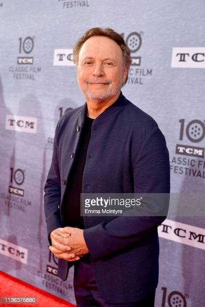 """Billy Crystal attends The 30th Anniversary Screening of """"When Harry Met Sally…"""" Opening Night at the 2019 10th Annual TCM Classic Film Festival on..."""