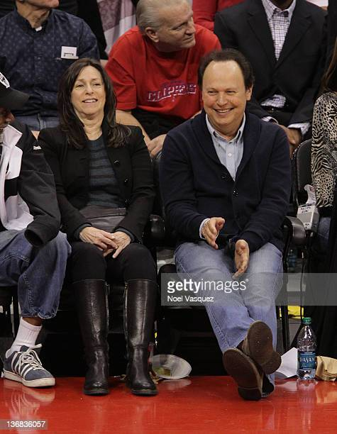 Billy Crystal attends the game between the Miami Heat and the Los Angeles Clippers at Staples Center on January 11 2012 in Los Angeles California