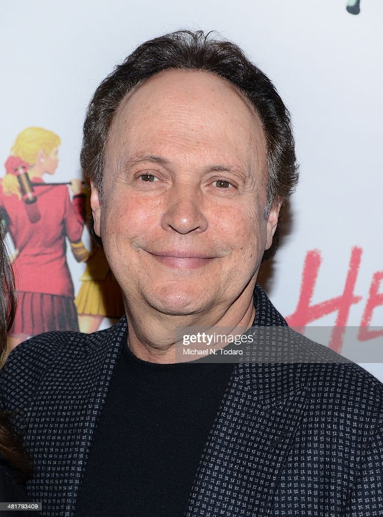 Billy Crystal attends the off Broadway opening night of 'Heathers The Musical' at New World Stages on March 31, 2014 in New York City.