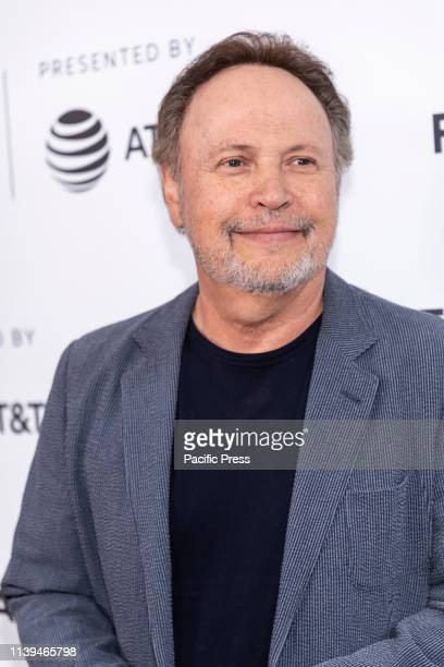 Billy Crystal attends the Standing Up Falling Down premiere during 2019 Tribeca Film Festival at SVA Theater Manhattan