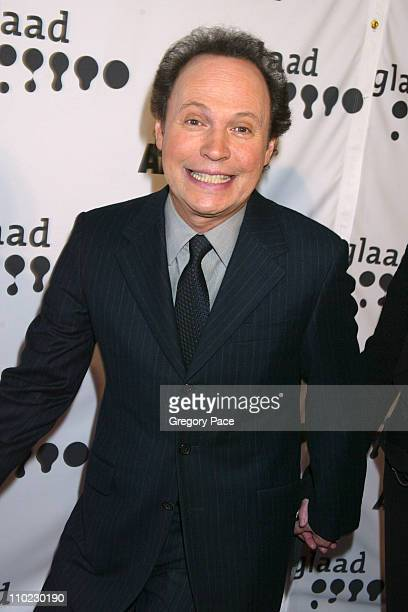 Billy Crystal during 16th Annual GLAAD Media Awards - Arrivals at Marriott Marquis in New York City, New York, United States.