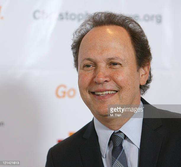 Billy Crystal during 3rd Annual Los Angeles Gala for the Christopher and Dana Reeve Foundation at Century Plaza Hotel in Century City, California,...