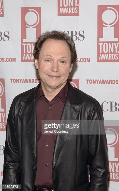 Billy Crystal during 59th Annual Tony Awards 'Meet The Nominees' Press Reception at The View at The Marriot Marquis in New York City New York United...
