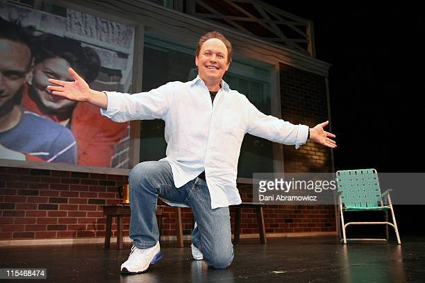Billy Crystal during Billy Crystal 700 Sundays Press Conference at Capitol Theatre in Sydney NSW Australia