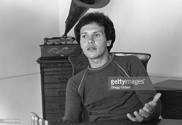 Billy Crystal during Billy Crystal at Home in West Hollywood October 17 1977 at Private Residence in West Hollywood California United States