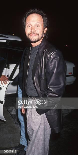 Billy Crystal during Billy Crystal Sighting at Spago Restaurant - January 23, 1991 at Spago in Hollywood, California, United States.