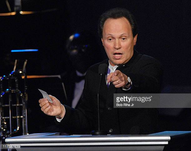 Billy Crystal during Childrens Hospital Los Angeles 2nd Noche de Ninos Gala Honoring Johnny Depp Show at Beverly Hilton Hotel in Beverly Hills...
