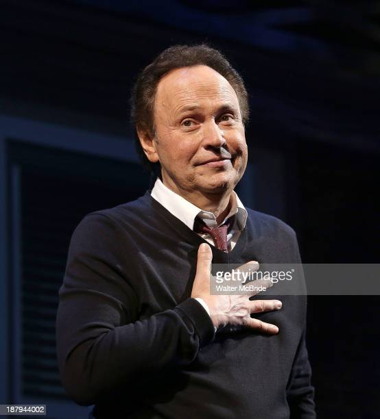 Billy Crystal during the Broadway Opening Night Performance Curtain Call for 'Billy Crystal 700 Sundays' at the Imperial Theatre on November 13 2013...