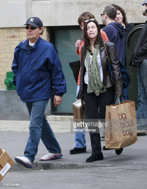 Billy Crystal Janice Crystal and guest during Billy Crystal and Janice Crystal Sighting in Soho May 18 2007 at Soho in New York City New York United...
