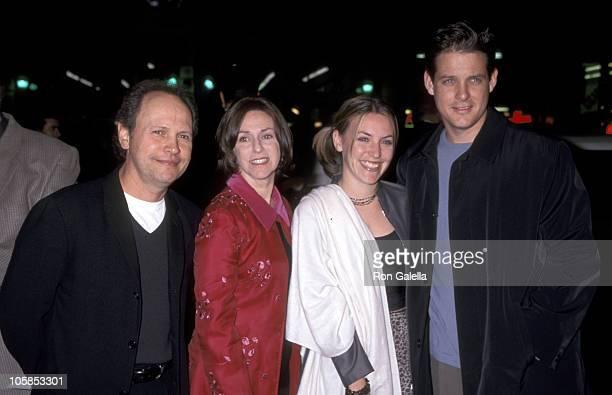 Billy Crystal Janice Crystal Jennifer Crystal and Husband Michael Foley