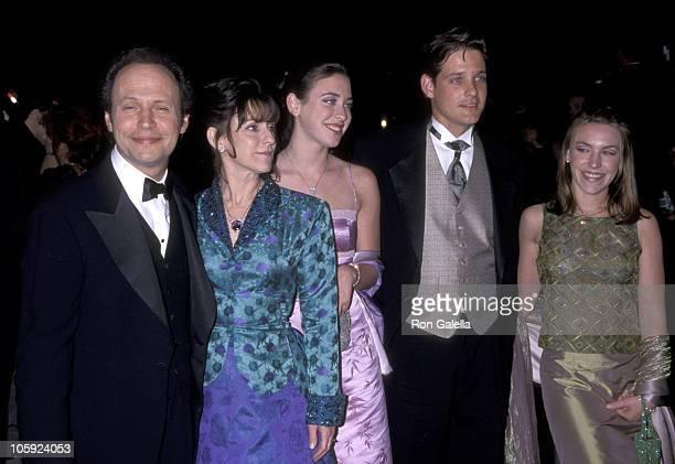 Billy Crystal Janice Crystal Lindsay Crystal Jennifer Crystal and Husband Michael Foley
